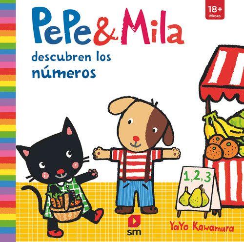 PEPE & MILA APRENDEN LOS NUMEROS