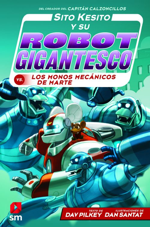 SITO KESITO 4 Y SU ROBOT GIGANTESCO CONTRA LOS MONOS MECAN