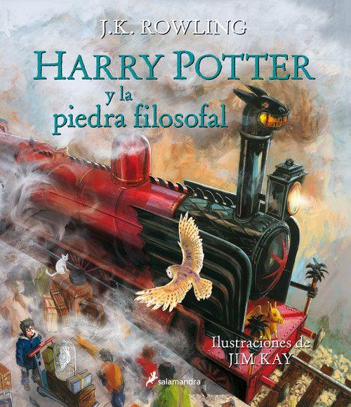 HARRY POTTER Y LA PIEDRA FILOSOFAL   ILUSTRADO POR JIM KAY