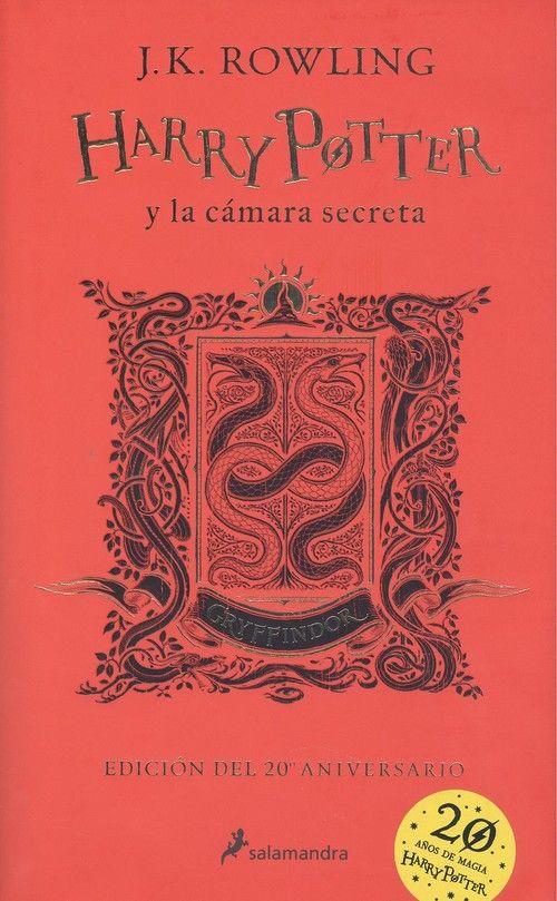 HARRY POTTER Y LA CAMARA SECRETA. GRYFFINDOR  ROJO