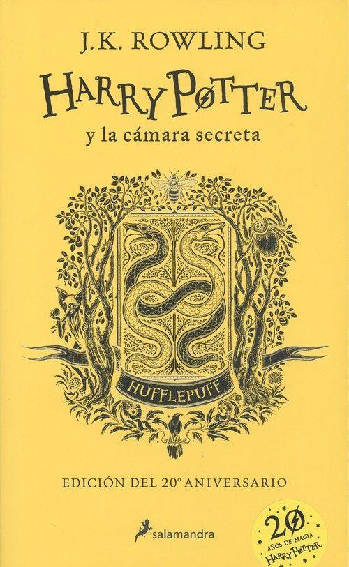 HARRY POTTER Y LA CAMARA SECRETA. HUFFLEPUFF AMARILLO