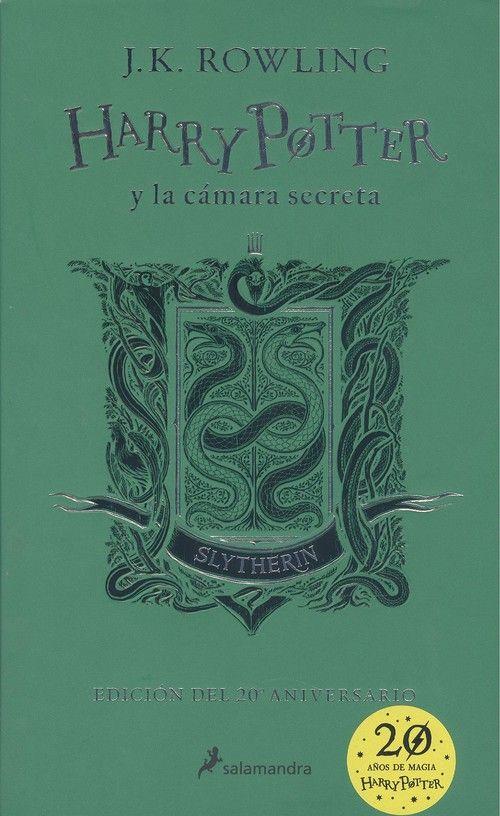 HARRY POTTER Y LA CAMARA SECRETA. SLYTHERIN  VERDE