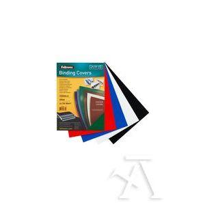 caja 100 tapas de encuadernación a4 chromolux 100 micras color rojo