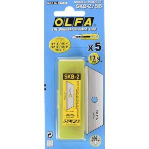 Paq/5 cuchillas olfa cutter 9mm sk-4