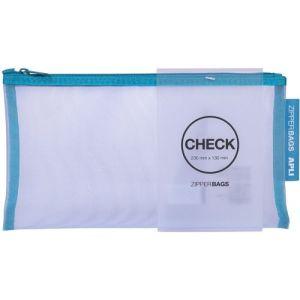 C/20 bolsas zipper check con cremallera colores surtidos 23cm x 13cm