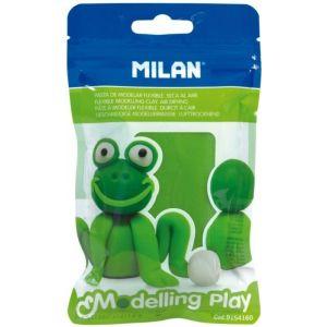 c/12 blister pasta para modelar verde claro 100g modelling play