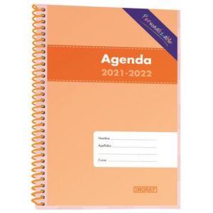Exp/12 agenda escolar 8º día página 12 meses colores surtidos