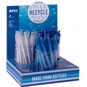 Exp 36 boligrafos fabricados de botellas recicladas
