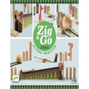CONSTRUCCION ZIG & GO 27 PIEZAS