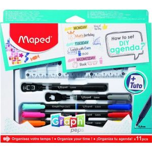 Set how to diy agenda 11 pzas caja