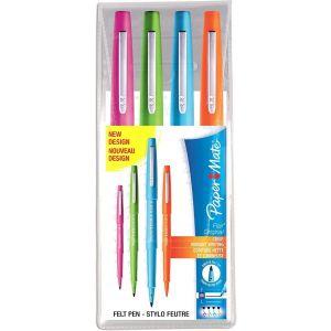 Estuche 4 rotuladores paper mate flair original colores fantasia
