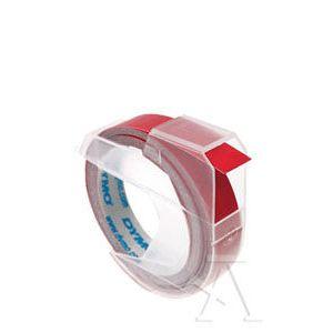 CAJA 10 CINTAS DYMO 3D ROJO 9MMX3M