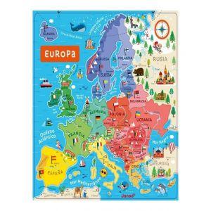 MAPA MAGNETICO EUROPA ESPAÑOL