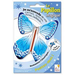 Mariposa magica voladora de luxe
