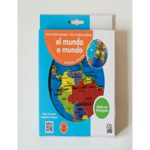 GLOBO HINCHABLE TERRAQUEO 30 CM
