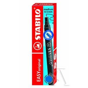 Estuche 3 recambios rollerball easy original start azul 0,5 mm
