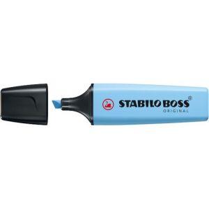 C/10 marcadores fluorescentes azul ventoso  stabilo boss 70 pastel