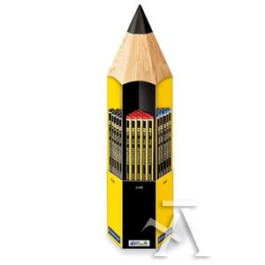 Expositor 90 lapiz de grafito noris graduaciones surtidas