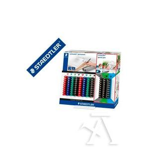Expositor 110 rotuladores Lumocolor puntas y colores surtidos Staedtler