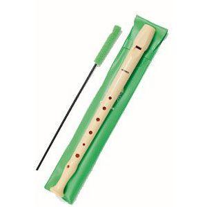 Flauta lisa hohner funda verde