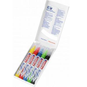 Pack 5 marcador acrilico edding 5100 trazo medio colores básicos