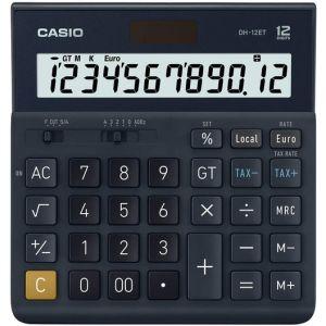 Calculadora sobremesa dh-12et 12 digitos solar/pilas