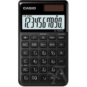 Calculadora de bolsillo sl-1000sc color negro