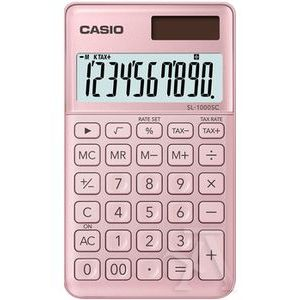 CALCULADORA BOLSILLO SL-1000SC COLOR ROSA