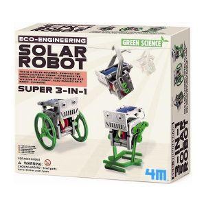 SUPER 3 EN 1 SOLAR ROBOT