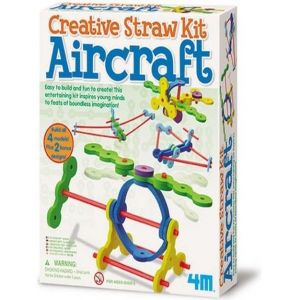 CREATIVE STRAW KIT AIRCRAFT 4624