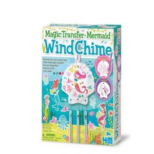 MAGIC TRANSFER MERMAID WIND CHIME ARTE CON PINTURA 4M 0004683