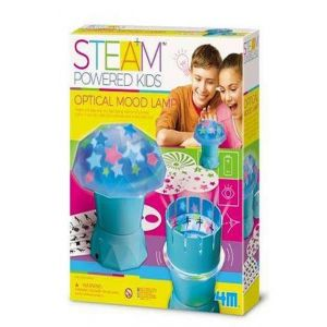 Juego 4m set lampara optica ambiental