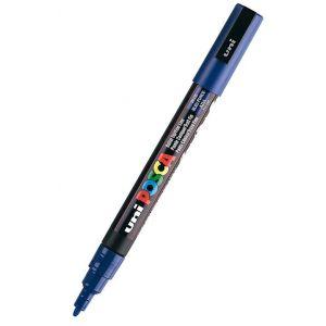 Marcador uni posca pc-3m color azul 0,9-1.3mm