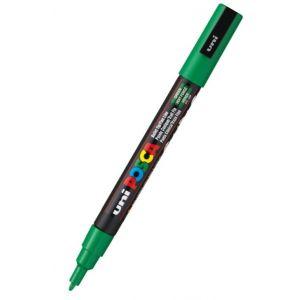 Marcador uni posca pc-3m color verde 0,9-1.3mm