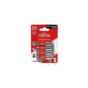 Blister 4 pilas Fujitsu alkaline lr6