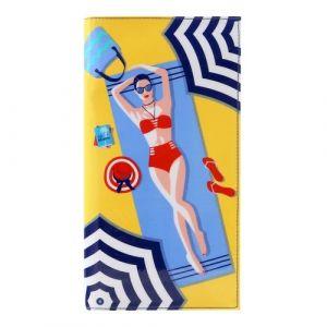 BILLETERA GRANDE LIFES A BEACH SANTORO 13,2x24,1x2,2cm