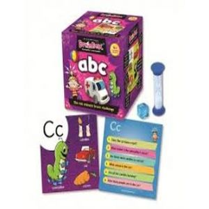 BRAINBOX ABC JUEGO MEMORIA INGLES
