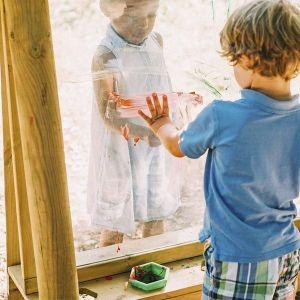 Pizarra de madera discovery crea y pinta