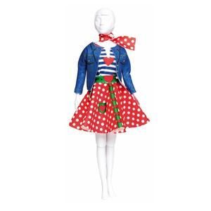 LUCY PUNTOS POLCA / MAKING COUTURE LUCY POLKA DOTS (S313-0702-D)