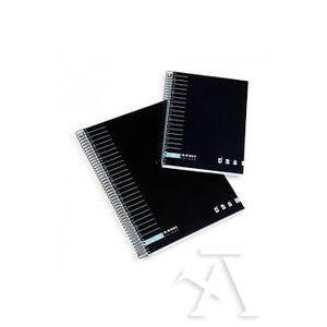 Paq/4 block ambar a4 t.forrada 150h 70gr horizontal basic microperforada