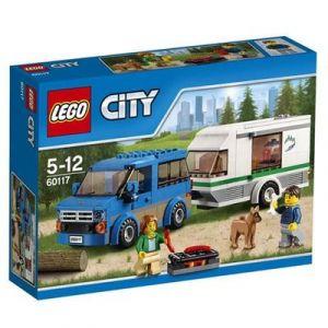 LEGO CITY - FURGONETA Y CARAVANA  MULTICOLOR (60117)