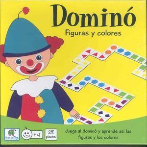 DOMINO FIGURAS Y COLORES