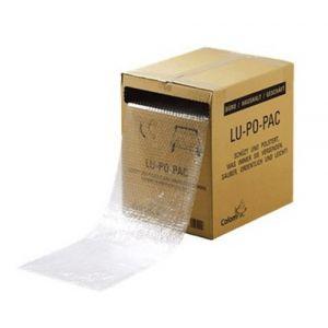 Plastico De Burbuja Rollo 30cm X 50 M En Caja Dispensadora