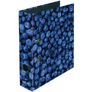 Archivador Palanca Decorado Herlitz Fruits A4 80mm Arandanos