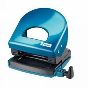 Taladro 2 Punzones Petrus Wow 62 Azul Metalizado