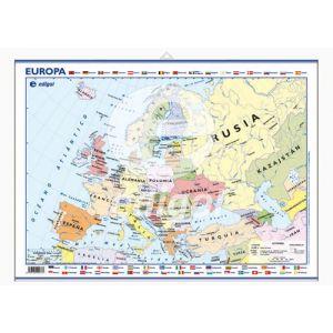 Mapa Edigol Mini-Mural 50x35 Cm Politico Europa