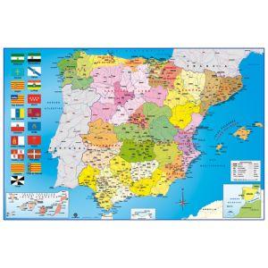 Mapa Erik Mural 61x91 5 Cm Fisico/Politico España
