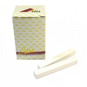 Tizas Cuadradas Blancas Paquete De 25