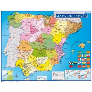 Mapa Erik Mini Poster 40x50 Cm  España