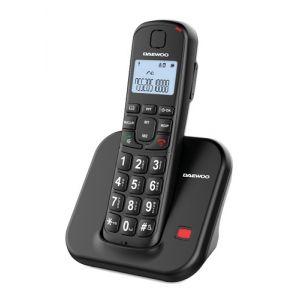 Telefono Inalambrico Daewoo Dtd-7200b Negro